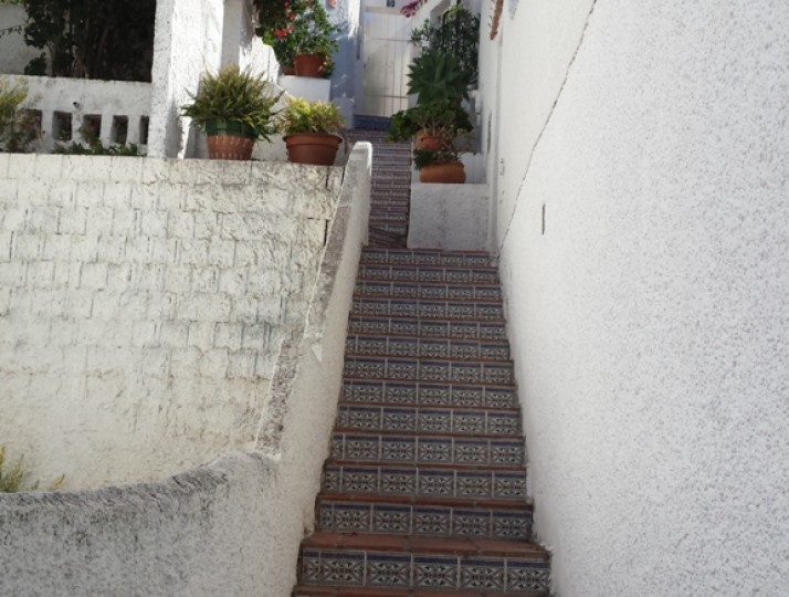 Outside stairs
